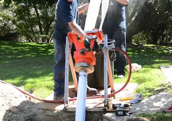 Men fixing sewer pipe line | Sewer Pipe Lining Woodbridge VA